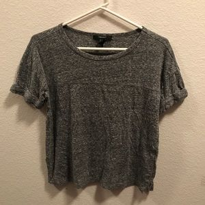 Forever 21 Scoop Neck Top